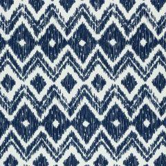 Sunbrella Thibaut Indira Indigo W80774 Solstice Collection Upholstery Fabric