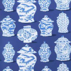 Stroheim Canton Cobalt Blue 4788101 Dana Gibson Wallcovering Collection