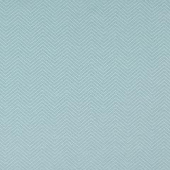 Sunbrella Thibaut Haven Herringbone Aquamarine W80010 Portico Collection Upholstery Fabric