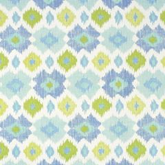 Thibaut Bimini Ikat Blue and Green F95728 Biscayne Collection Multipurpose Fabric
