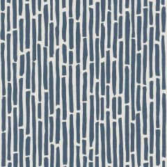F-Schumacher Bamboo-Marine 5007523 Luxury Decor Wallpaper