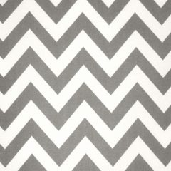 Premier Prints Zigzag Gray Indoor-Outdoor Upholstery Fabric