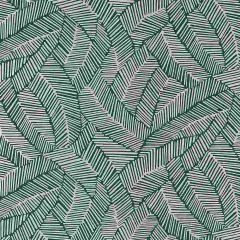 F-Schumacher Abstract Leaf-Metallic Slate 5007534 Luxury Decor Wallpaper