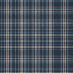 Fabricut Check Mate Cobalt 64992-01 Chromatics Collection Multipurpose Fabric