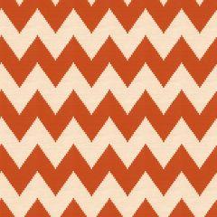 Kravet Sunbrella Talamo Tangerine 33642-12 Clarity Collection by Jonathan Adler Upholstery Fabric