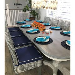 Custom Dining Room Chair Cushions (Seat)