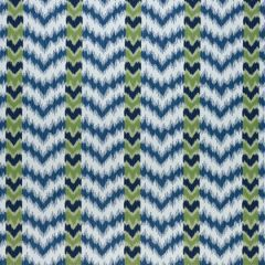 Sunbrella Thibaut Tempo Blue and Green W80815 Solstice Collection Upholstery Fabric