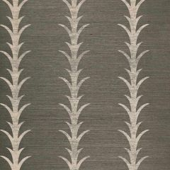 F-Schumacher Acanthus Stripe-Shadow 5006050 Luxury Decor Wallpaper