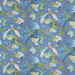 Thibaut Janta Bazaar Blue F964158 Caravan Collection Multipurpose Fabric