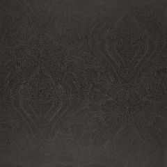 F-Schumacher Breckenridge Paisley-Charcoal 5006243 Luxury Decor Wallpaper
