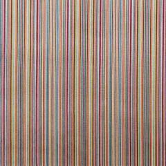 Baker Lifestyle Samba Stripe Tutti Frutti PF50427-1 Carnival Collection Indoor Upholstery Fabric