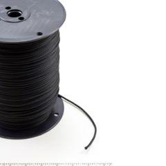 Neobraid Polyester Cord #4 - 1/8 inch by 1000 feet Black