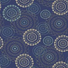 Sunbrella by Mayer Mandala Lapis 418-004 Imagine Collection Upholstery Fabric