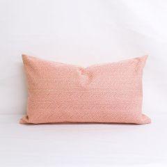 Indoor/Outdoor Sunbrella Posh Coral - 24x14 Throw Pillow (quick ship)