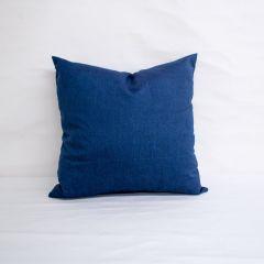 Indoor/Outdoor Sunbrella Spectrum Indigo - 18x18 Throw Pillow (quick ship)