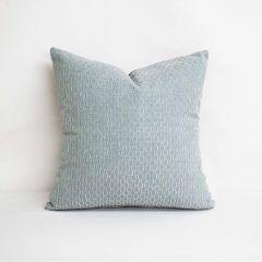 Indoor/Outdoor Sunbrella Dimple Mist - 18x18 Throw Pillow (quick ship)