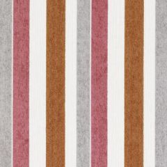 Duralee Lawrencehillstripe2-Tangerine by Eileen K. Boyd 15670-35 Decor Fabric