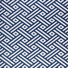 Sunbrella Thibaut Parterre Navy W80328 Calypso Collection Upholstery Fabric