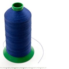 A&E Poly Nu Bond Twisted Non-Wick Polyester Thread Size 138 #4601 Pacific Blue