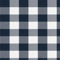 Fabricut Camping Check Navy 2778 Clean and Classic Indoor / Outdoor Checks and Stripes Collection Multipurpose Fabric