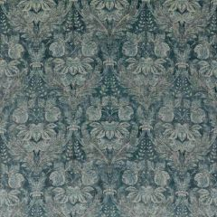 GP and J Baker Lapura Velvet Blue BP10829-1 Coromandel Collection Multipurpose Fabric