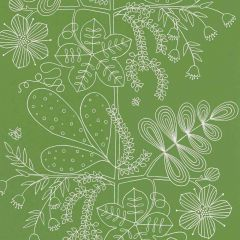F-Schumacher Blommen-Leaf 5007492 Luxury Decor Wallpaper