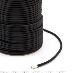Patio Lane Polypropylene Covered Elastic Cord #M-4 1/4 inches x 300 feet Black
