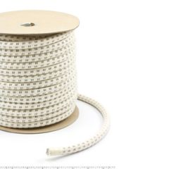 Stamoid Cotton Covered Elastic Cord #5 1/2 inch x 100 feet