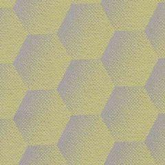 Sunbrella Hexagon Lemon HEX J207 140 European Collection Upholstery Fabric