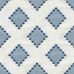 Kravet Diamond Dots Indigo 34267-516 Sarah Richardson Harmony Collection Indoor Upholstery Fabric