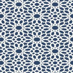 F-Schumacher Agadir Screen-Lapis 5006640 Luxury Decor Wallpaper