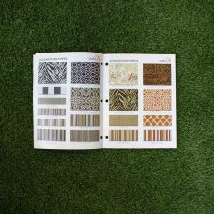 Outdura Ovation II Sample Card - Photo Booklet