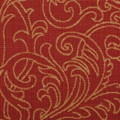 Duralee Gold/Red 15555-69 Decor Fabric