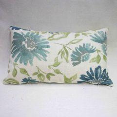 Indoor/Outdoor Sunbrella Violetta Baltic - 20x12 Throw Pillow (quick ship)