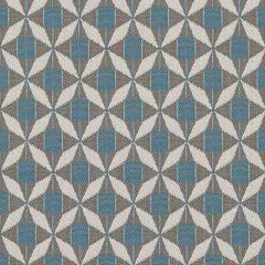 Sunbrella Mosaic Blue MOS J198 136 European Collection Upholstery Fabric