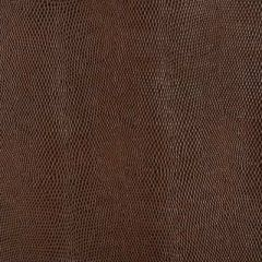 Duralee Chocolate 15537-103 Edgewater Faux Leather Collection Interior Upholstery Fabric