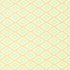 Thibaut Carole Beige and Aqua F99189 Avalon Collection Multipurpose Fabric