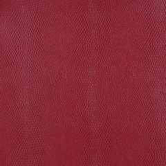 Duralee Red 15537-9 Edgewater Faux Leather Collection Interior Upholstery Fabric