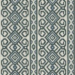 Fabricut Oran Stripe Loden Frost 4268 Multipurpose Fabric