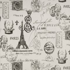 Premier Prints French Stamp Onyx Natural Multipurpose Fabric