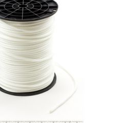 Neobraid Polyester Cord #6 - 3/16 inch by 500 feet White