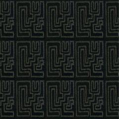 Groundworks Sunbrella Miramar Graphite GWF-3420-811 by Kelly Wearstler Upholstery Fabric