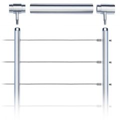 ModRail DIY Modular Stainless Steel Cable System