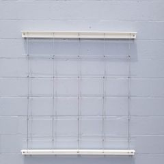 DIY Green Wall Cable Trellis Kit - Wall Garden - 4 Ft., 5 Ft., 6 Ft. Available