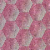 Sunbrella Hexagon Pink HEX J203 140 European Collection Upholstery Fabric