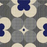 Outdura Poppy Midnight 7500 The Ovation 3 Collection - Lofty Blue Upholstery Fabric