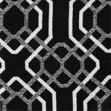 Bella-Dura Alexandria Black-White 30414A1-3 Upholstery Fabric