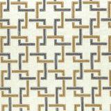 Clarke and Clarke Sekai Charcoal / Cinnamon F0960-01 Drapery Fabric