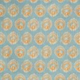Lee Jofa Monaco Print Aqua / Melon 2018141-125 by Suzanne Kasler Multipurpose Fabric