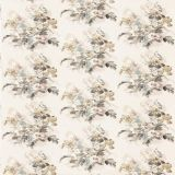 GP and J Baker Bird and Iris Ivory / Mole BP10774-3 Signature Prints Collection Multipurpose Fabric